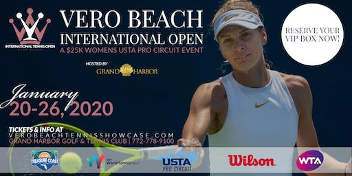 Vero Beach International Open - A $25K USTA Pro Circuit Event