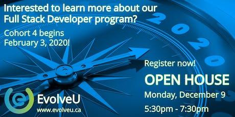 EvolveU Full Stack Developer Open House tickets