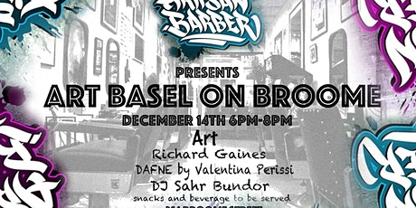 Art Basel On Broome tickets