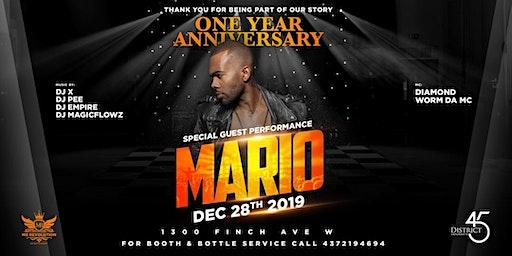 District 45 Nightclub Anniversary MARIO LIVE!