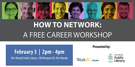 How to Network: A Free Career Workshop (Port Moody)