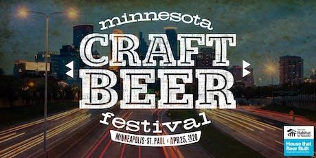 Minnesota Craft Beer Festival 2020 tickets