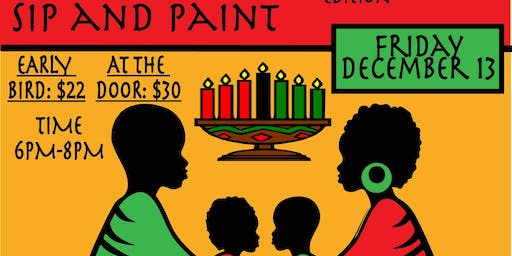 Kwanzaa Edition - Sip And Paint
