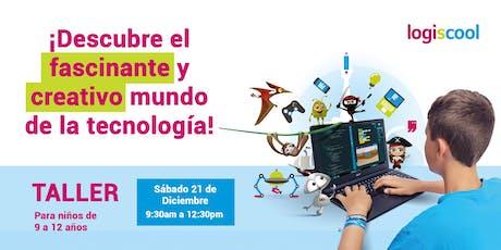 ¡Descubre el fascinante y creativo mundo de la tecnología! boletos