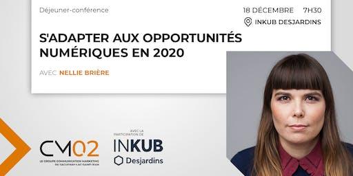Déjeuner-conférence | S'adapter aux opportunités numériques en 2020