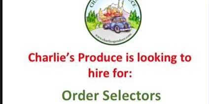 Charlie's Produce Recruitment