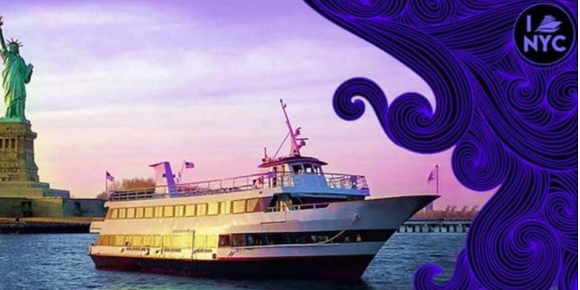 El # 1 LATINA Crucero oficial en yate para fiestas en barco en NYC: December 14th