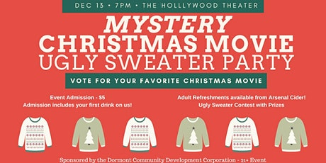 Mystery Christmas Movie Ugly Sweater Party tickets