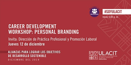 Taller de empleabilidad: Career Development Workshop: Personal Branding entradas