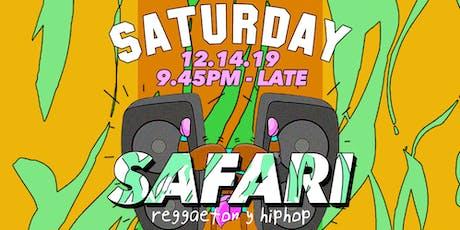 Safari (Reggaeton y HipHop) tickets