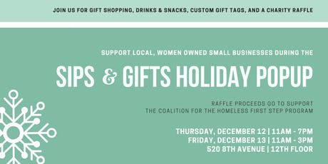 Sips & Gifts Holiday Popup tickets