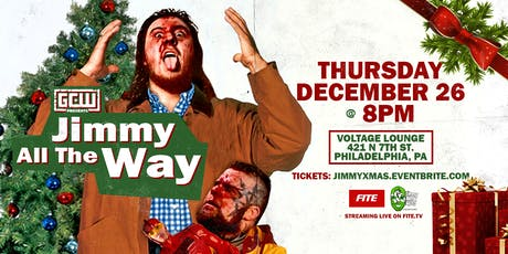 """GCW presents """"Jimmy All The Way!"""" tickets"""