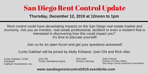 San Diego Rent Control Update