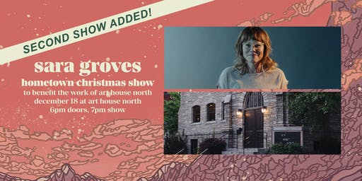 SECOND SHOW ADDED: Sara Groves' hometown Christmas show at Art House North
