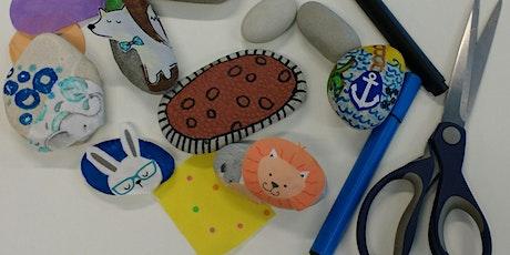 April School Holidays Pebble Art @ Cultural Centre Library tickets
