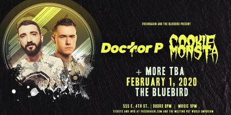 Dr P and Cookie Monsta at The Bluebird tickets