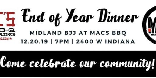 Midland BJJ End of the Year Dinner