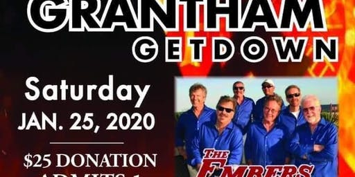 1st Annual Grantham Getdown with The Embers feat Craig Woolard