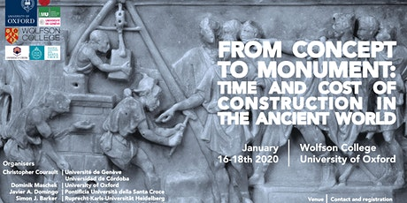 From Concept to Monument:Time and Cost of Construction in the Ancient World tickets