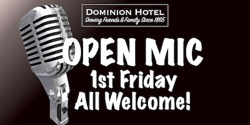 """Open Mic at the """"D"""""""
