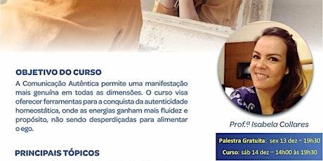 CURSO LIVRE – COMUNICAÇÃO AUTÊNTICA tickets