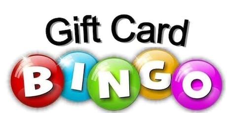 Fundraiser Dinner and Gift Card Bingo tickets