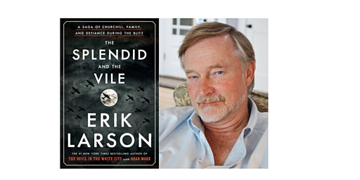 Erik Larson at Meredith College's Jones Auditorium