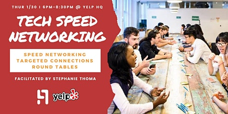 TECH SPEED NETWORKING tickets