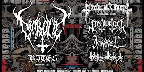 Diabolic Rites + Nocturnal Graves + Destruktor + Anarazel + Klavierkrieger tickets