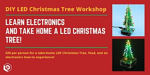 DIY LED Christmas Tree Workshop