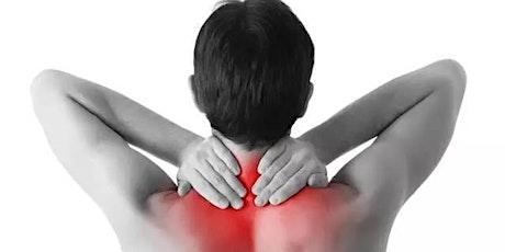 肩颈酸痛特效疗法剖析+现场演示 tickets