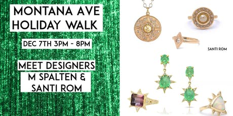Montana Ave HOLIDAY WALK 2019 Jewelry Trunk Show tickets