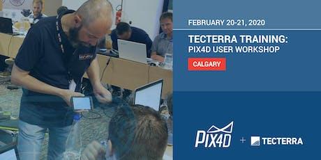 TECTERRA TRAINING: PIX4D User Workshop Calgary tickets