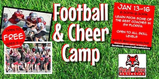 Free Football and Cheer skills Camp