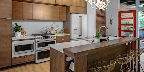 Holiday Party & Free Kitchen Giveaway! A Mid-Century Modern Tour. tickets