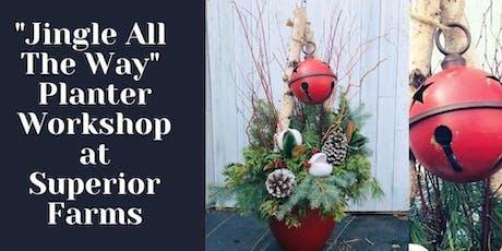 Planter Workshop - Sun Dec 8th 2pm tickets