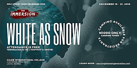 The Immersion 2019 | White as Snow tickets