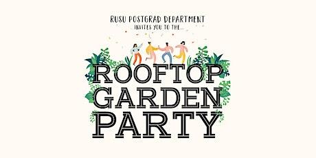 Postgrad/PhD end of year Garden party tickets