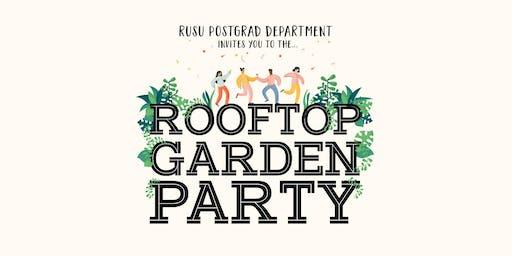 Postgrad/PhD end of year Garden party
