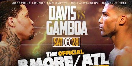 FIGHT NIGHT PARTY!! DAVIS VS GAMBOA at JOSEPHINE LOUNGE SATURDAY DEC.7TH!! tickets