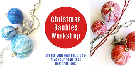 Christmas Bauble Painting tickets