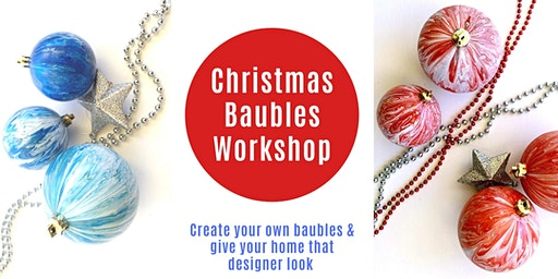 Christmas Bauble Painting