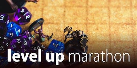 Level Up Marathon - Summer school holidays tickets