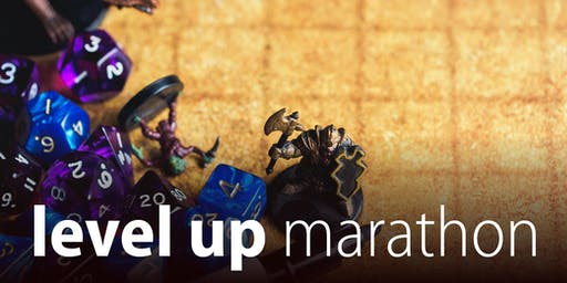 Level Up Marathon - Summer school holidays