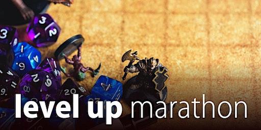 Level Up Marathon - Summer school holidays