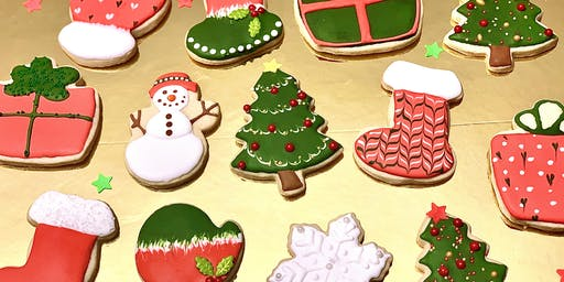 Christmas Holiday Cookies Decorating Class