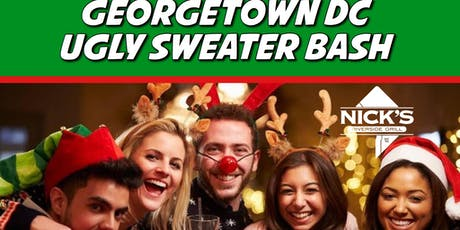 Georgetown Washington DC Ugly Sweater Party tickets