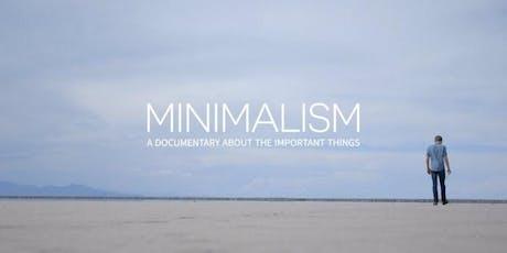 Novato Green Film Series - MINIMALISM tickets