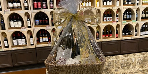 Gift Basket Workshop with 50% Off Pours