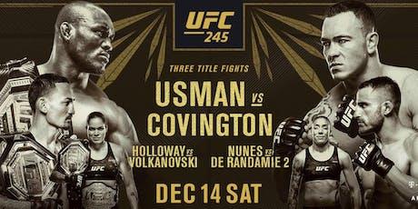 Usman vs Covington :: UFC 244 :: RTB Fight Night tickets